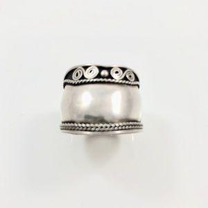 Vintage Sterling Silver Men's Ring